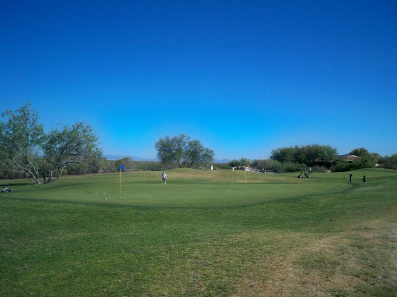 Chipping and Pitching Area, Tucson Golf