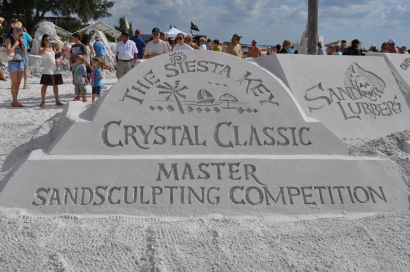 Siesta Key Crystal Classic Master Sandsculpting Competition