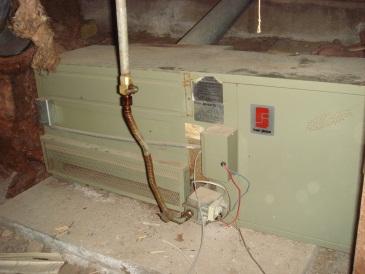 old furnace wiring