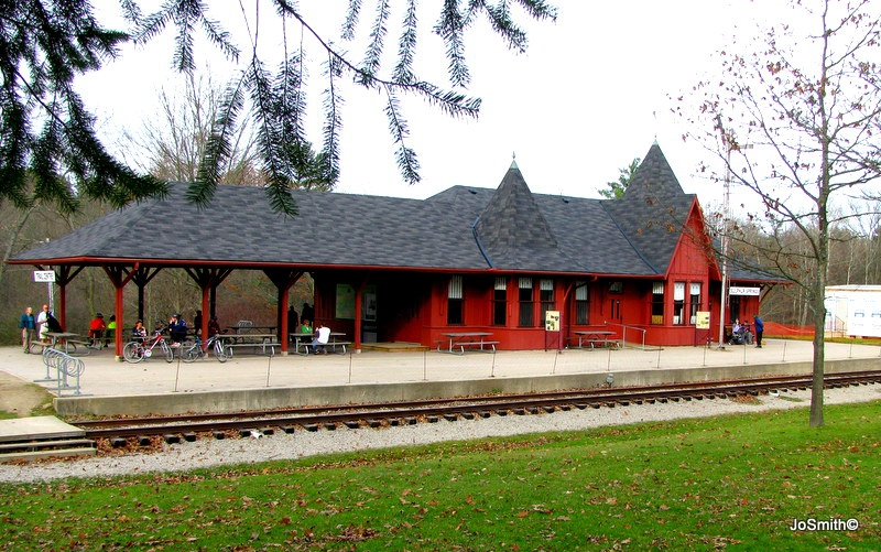 Sulphur Springs Reconstructed Railway Station