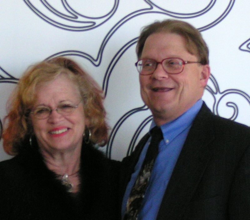Barbara Chatterton with Ron Frye