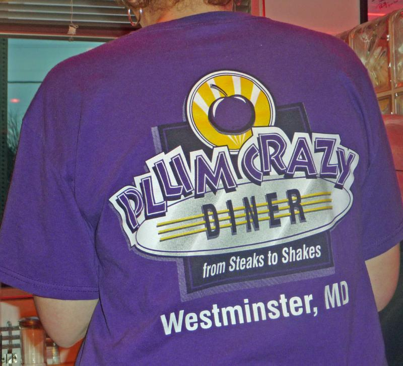 Plum Crazy Tshirt HomeRome.com