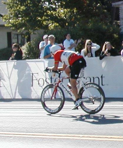 John Vargo Biking