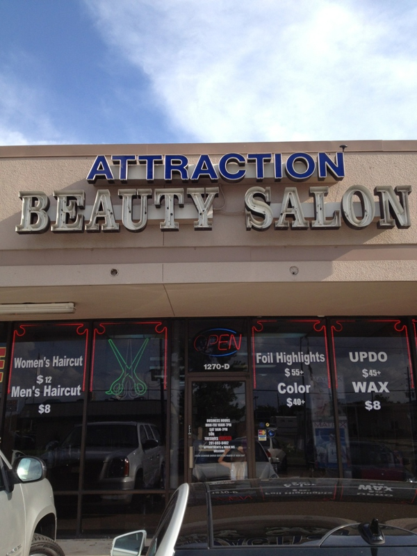 Front of Attraction Beauty Salon