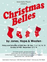 Christmas Belles by Serendipity Players - Nutty as a fruitcake
