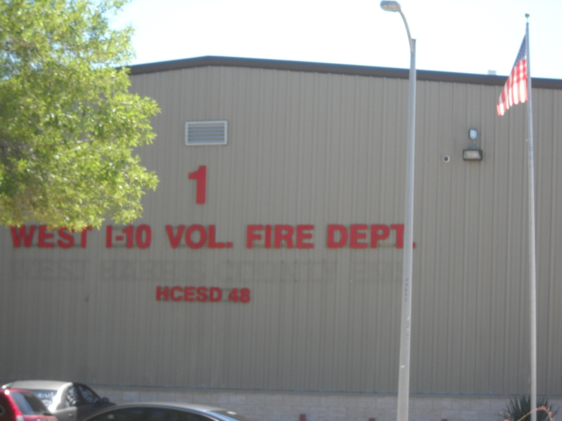 West I-10 Fire Department Station 1