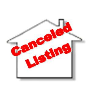 Cancelled Listings