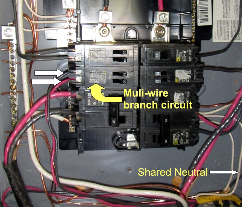 Wired for destruction- Multi-wire branch circuits and tandem breakers