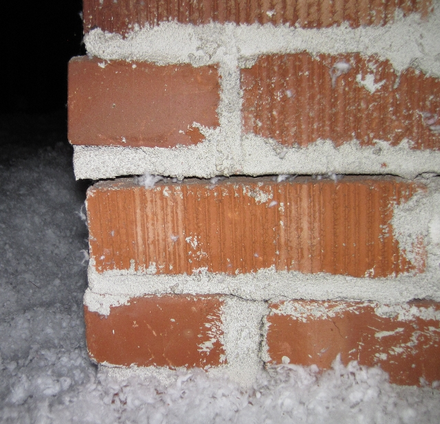 Separation of the brick