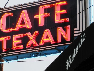 huntsville tx, cafe texan on the square