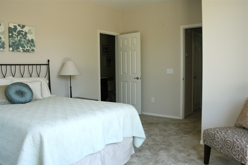 Temecula Home Staging Master Bedroom