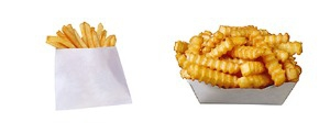 French Fries 20 years ago and now