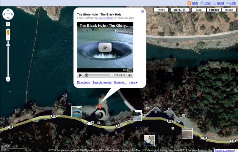 Embed Youtube Video into Google Maps