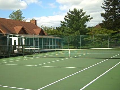 Tennis Courts and Clubhouse