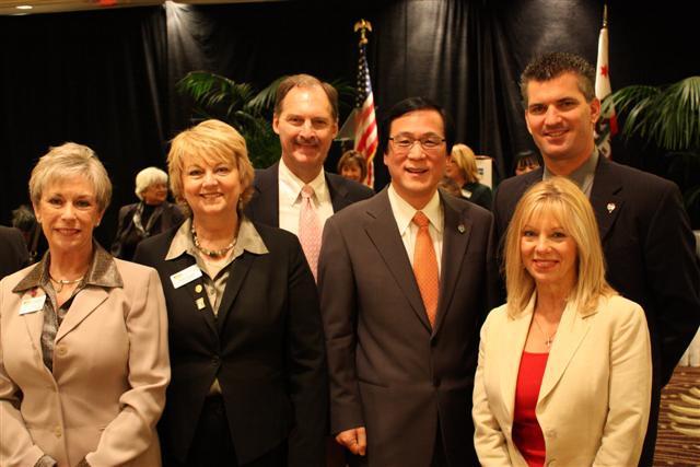Mayor Kang and OCAR leaders