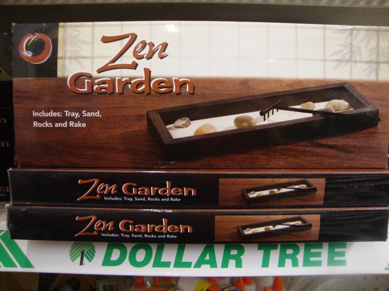 Awesome Zen Garden At The Dollar Store