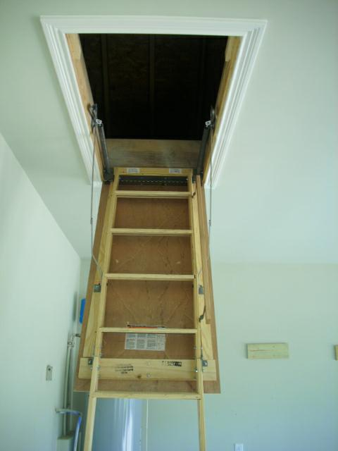 Attic Stairs Going Up