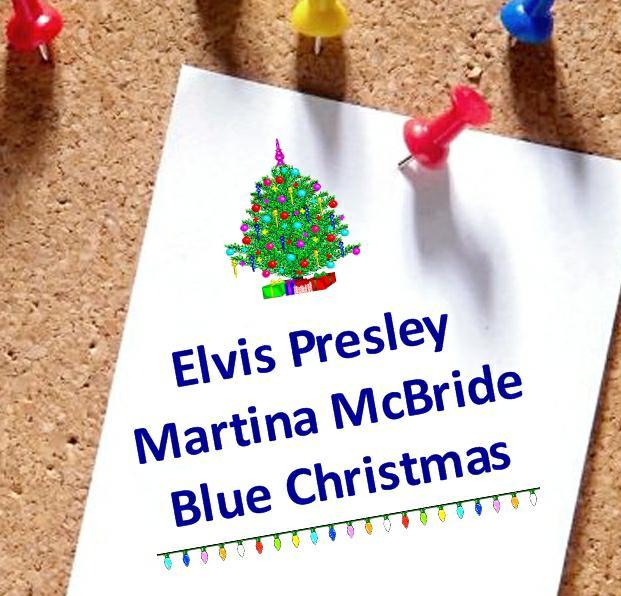 Elvis Presley/Martina McBride ~ Blue Christmas 2008