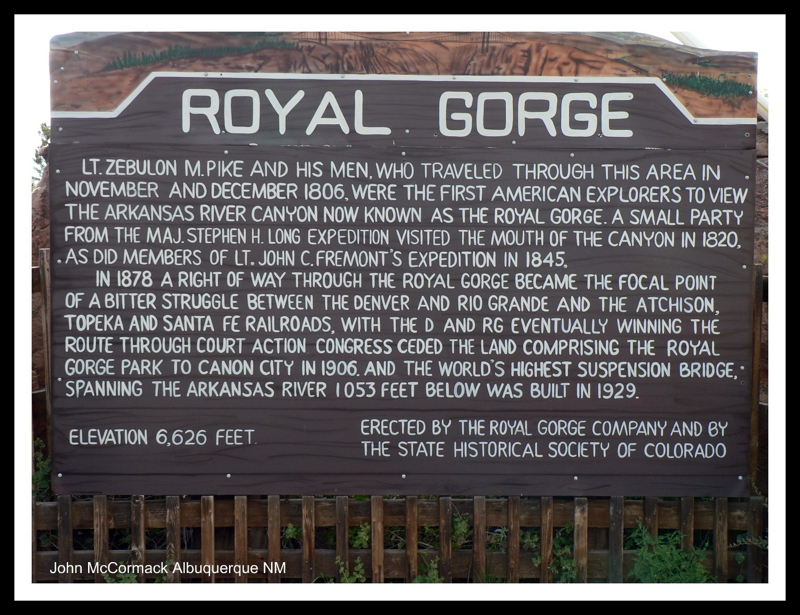 Royal Gorge Facts
