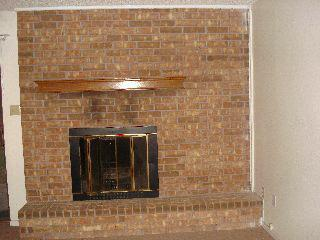 Fireplace,Before Staging