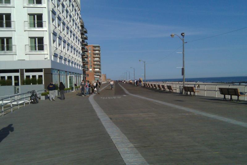 Long Beach New York Boardwalk