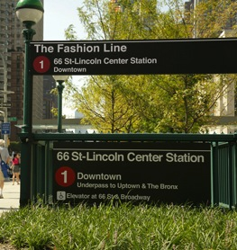 The Fashion Line (Number 1 Subway)