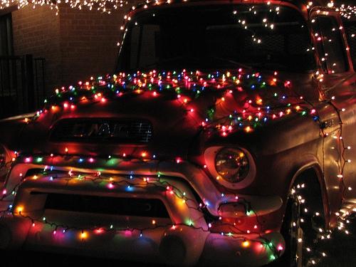 Christmas Lights At Winterhaven, Tucson, AZ