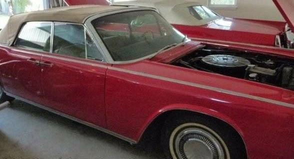 Lincoln Continental and Cadillac Convertible