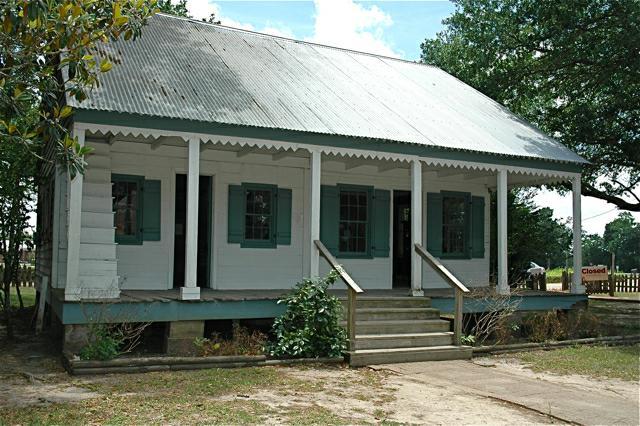 Bernard House at Acadian Village, Lafayette, LA