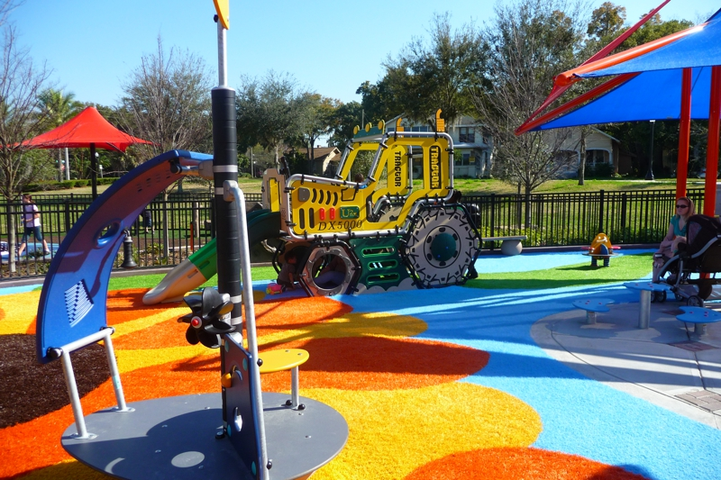 Lakeland Fl Sunflower Playground A Jewel For Parents Of
