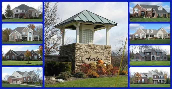 Avalon community of Mason Ohio 45040