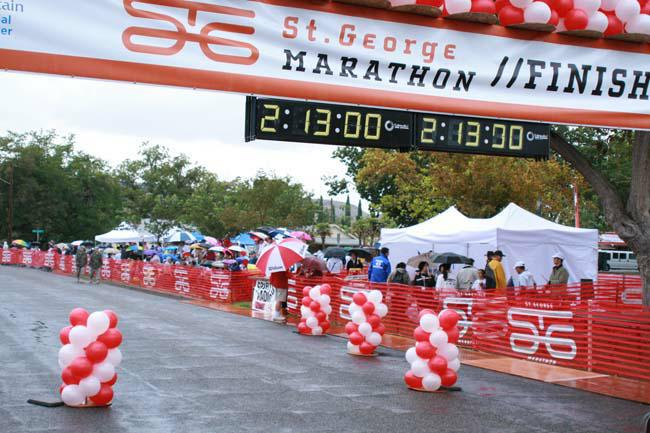St. George Marathon - Southern Utah