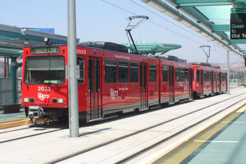 San Diego Trolley, Mission Valley, San Diego, California