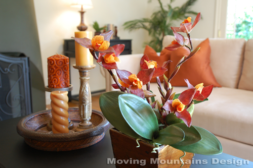 Los angeles home stager gets crafty with silk flowers succulents mightylinksfo