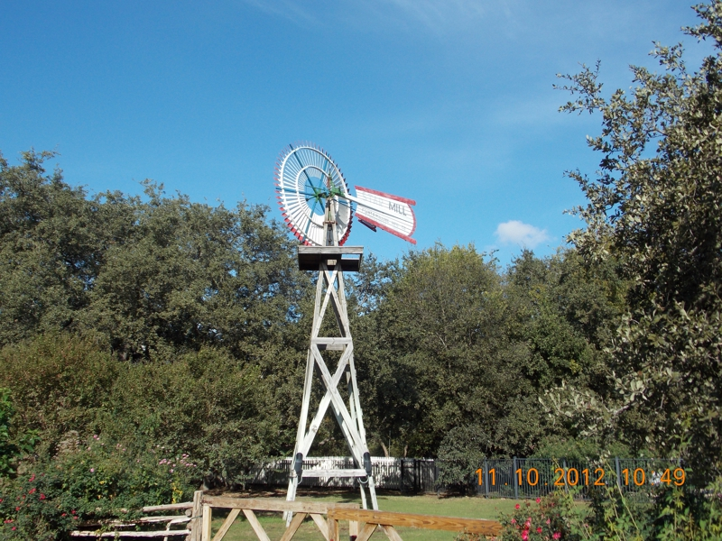 Wind Mill Texas Hill Country