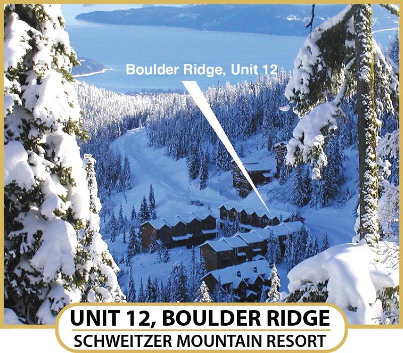 Boulder Ridge At Schweitzer Mountain Sandpoint Idaho