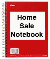 Home Sale Notebook
