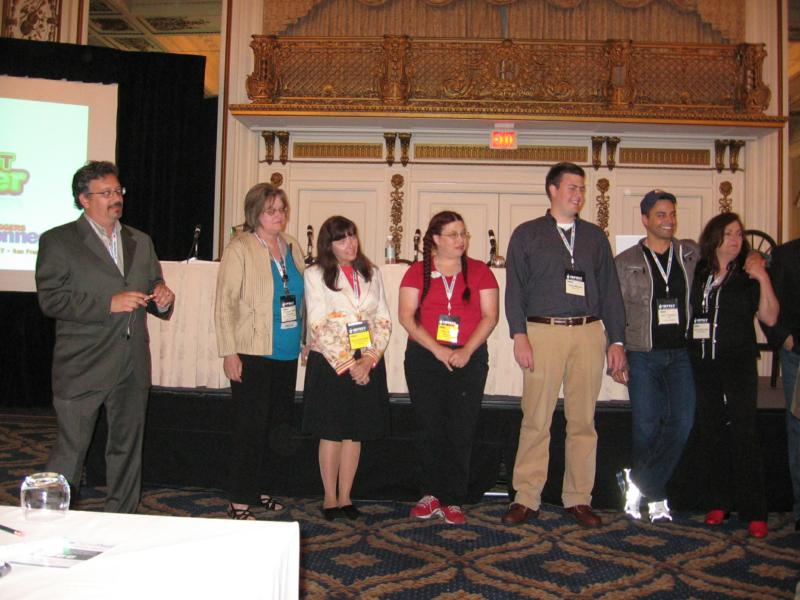 The Project Blogger Mentors and Apprentices who were at Bloggers Connect waited to hear who would be announced as the winner