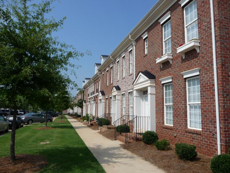 Town Homes at Mooresville's Morrison Plantation