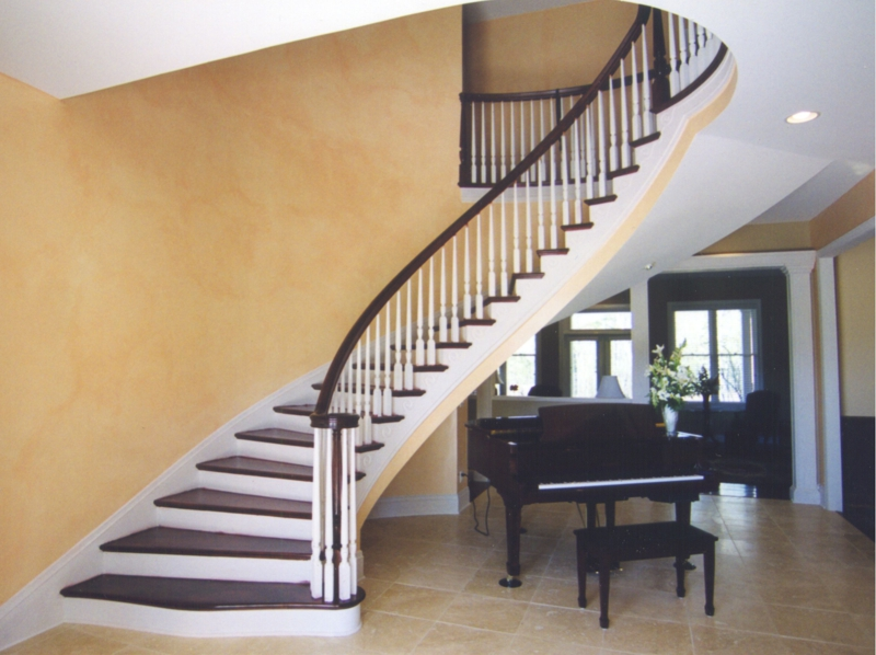 Comstaircase Designs For Homes : Southern Home Design - the Grand Staircase