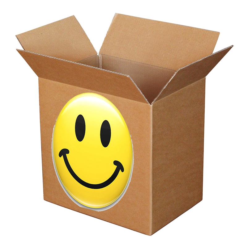 happiness in moving