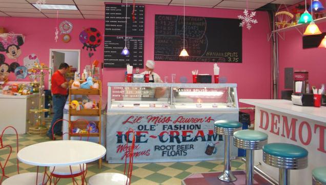 Icecream Store Decor