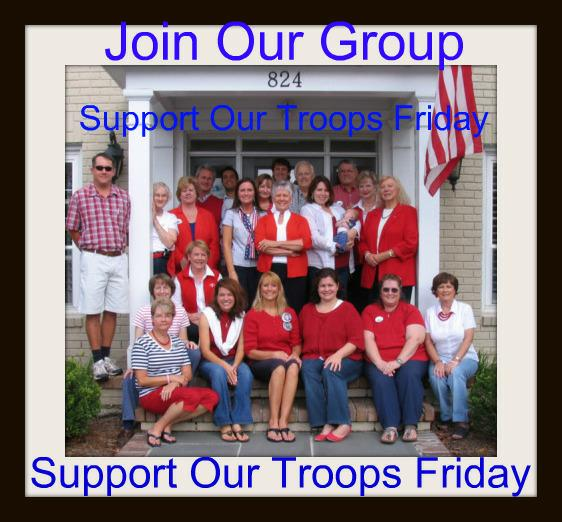 support our troop friday logo