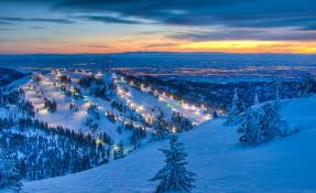 Bogus Basin at Night