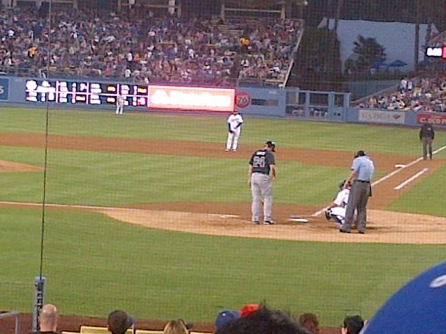 Dodger stadium Friday Night baseball