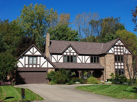 Tudor Style home in SOM Hills Solon Ohio