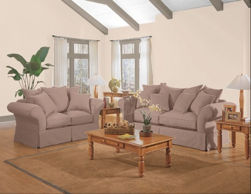 Sherwin Williams Sample Living Room With Color