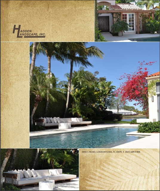 Hadden Landscaping Inc. - Loxahatchee Landscaping Company