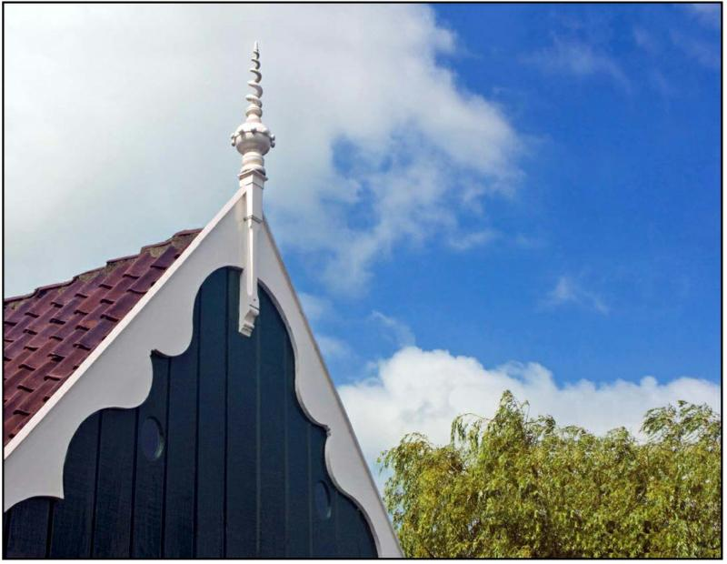 Roof with Spire