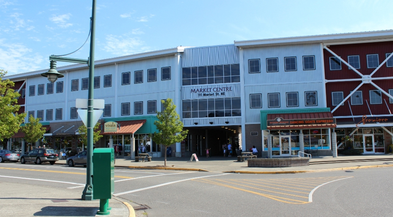 Downtown Olympia WA